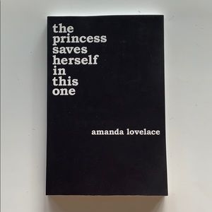 The Princess Saves Herself in this One Poem Book